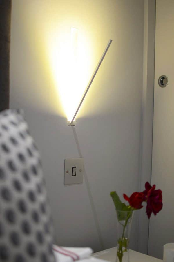 foldable wall lights stylish modern white