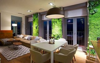 The Beauty and Benefits of Living Walls vertical green nature