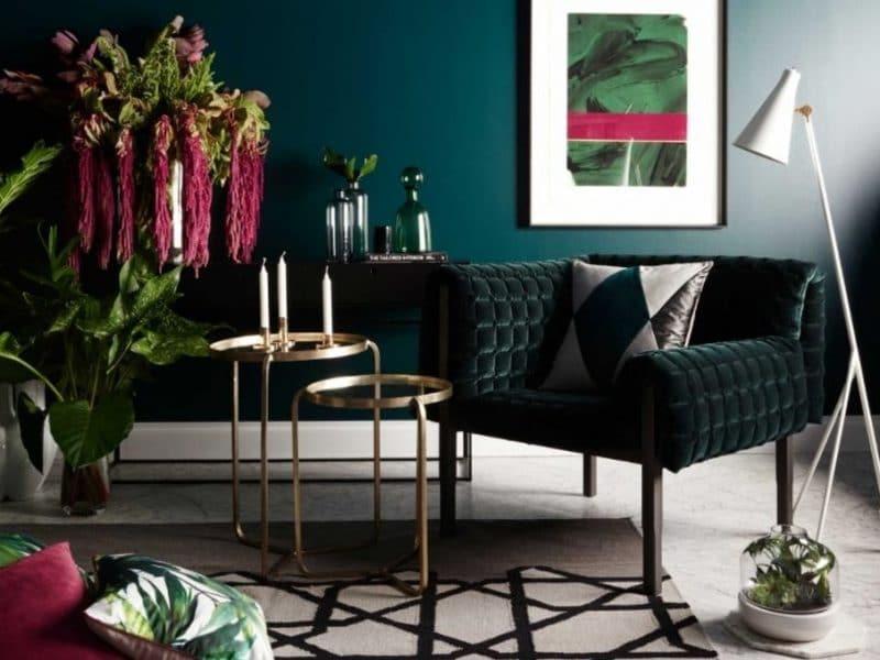 Colours trends 2018 pantone interior