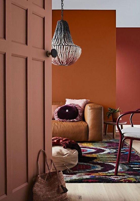 Color palette interior design 2018