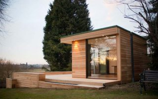 contemporary green garden studios modern eco friendly