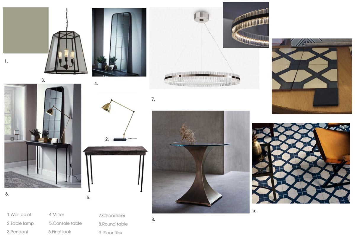 Interior design material sample board for What is a sample board in interior design