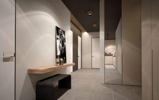 sleek hallway