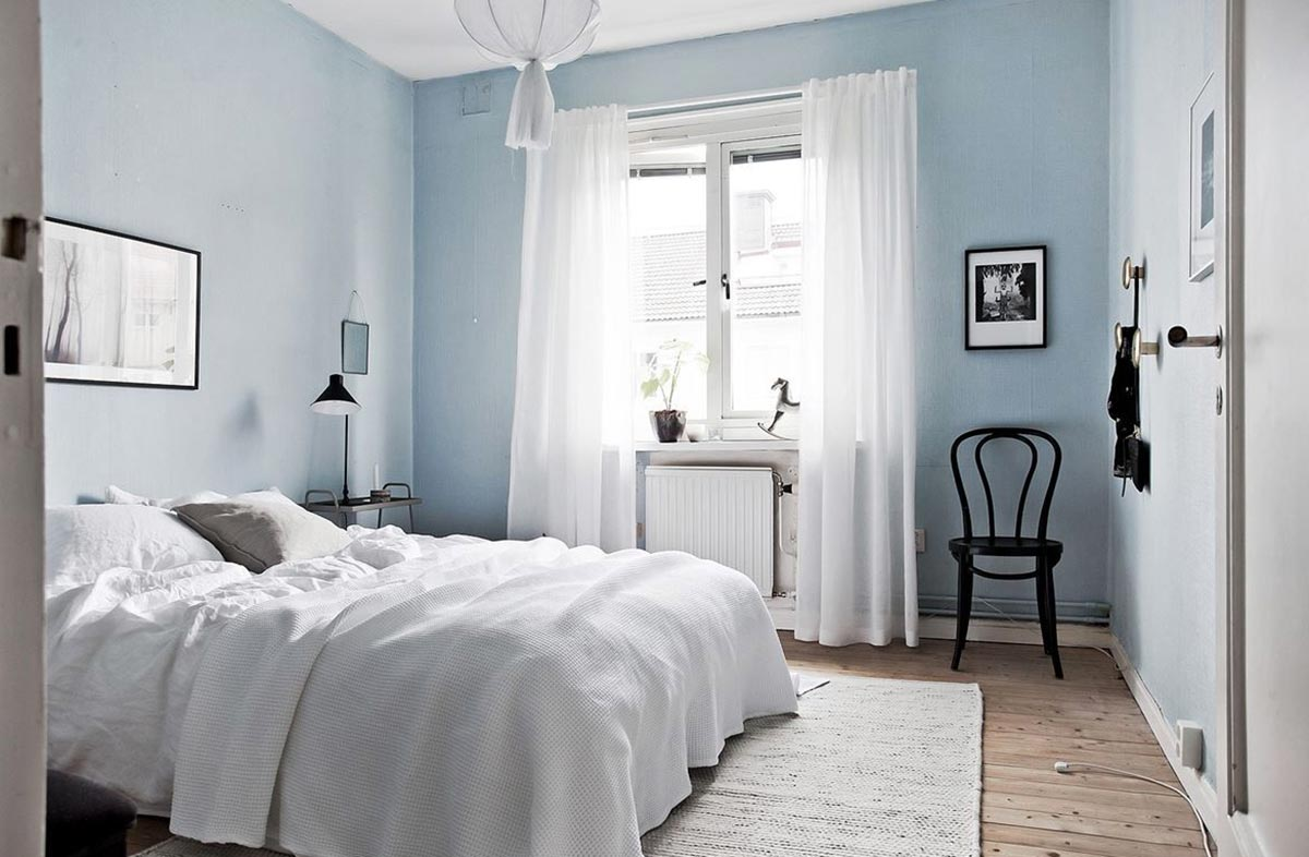 How the Colour of the Bedroom Affects Sleep