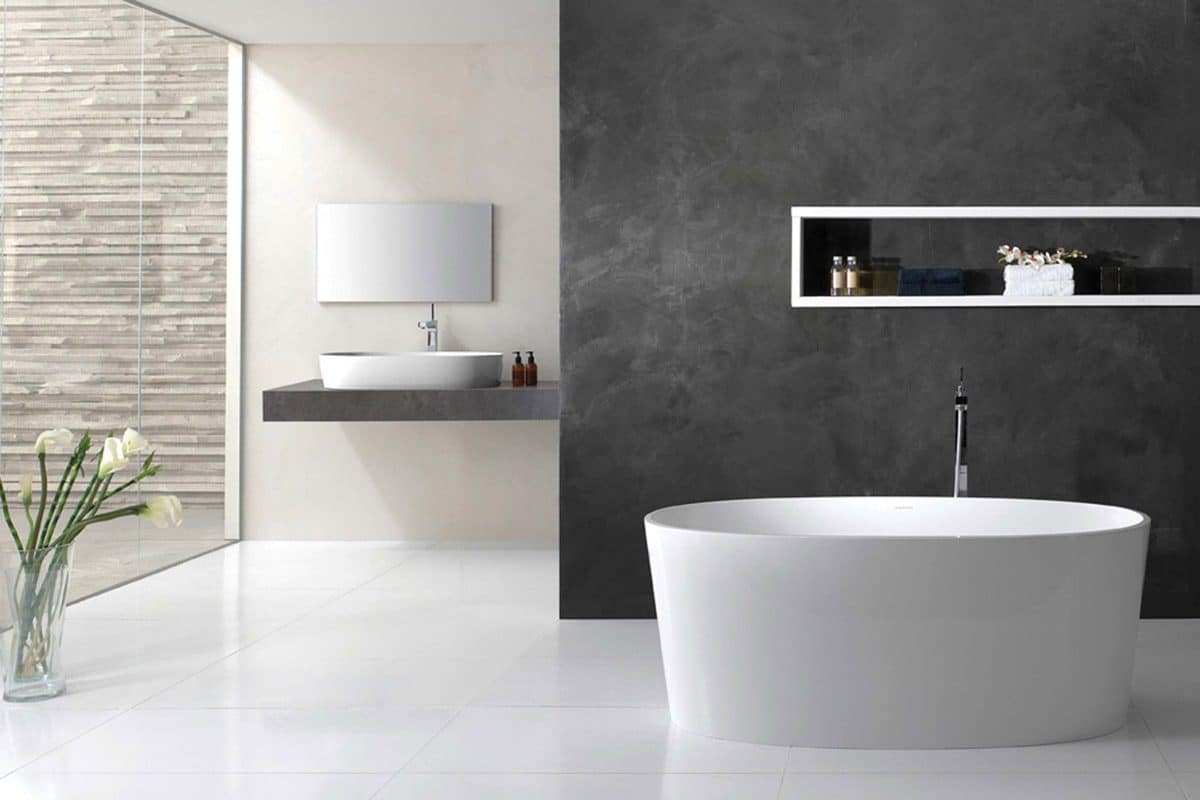 current contemporary bathroom