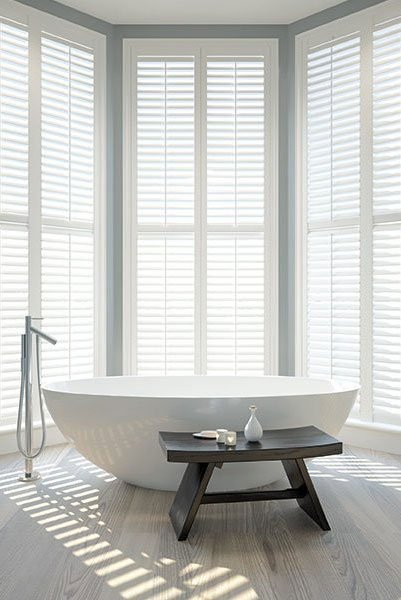 shutters bathroom