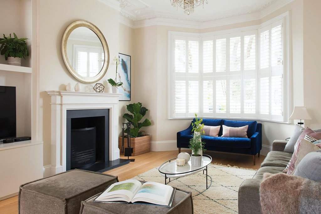 West London Chiswick Living Area