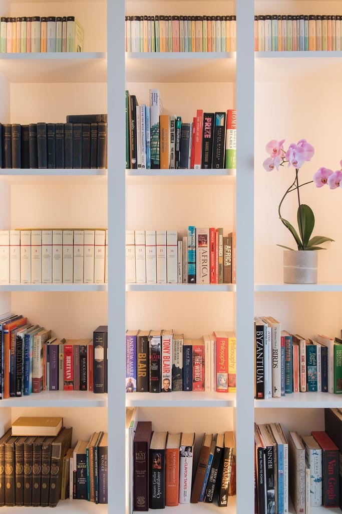 West London Chiswick project interior bookcase