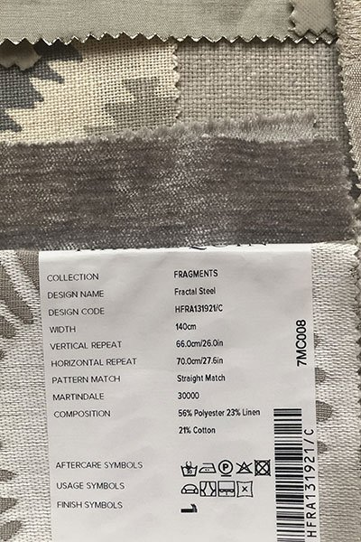 furnishing label